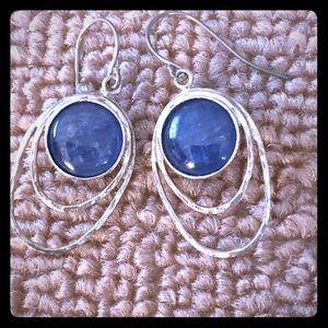 KYANITE/Sterling silver Earrings